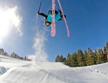 Spring skiing Breckenridge