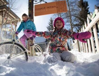 Kids in Breckenridge Winter