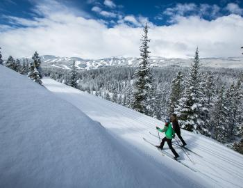 Winter Activities in Breckenridge - Cross Country Skiing by Liam Doran