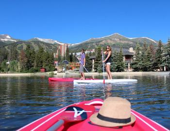 Stand Up Paddle Boarding Breckenridge