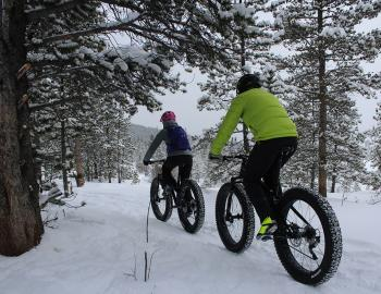 Winter Biking in Breckenridge