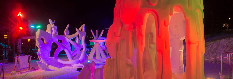 International Snow Sculptures in Breckenridge 2018