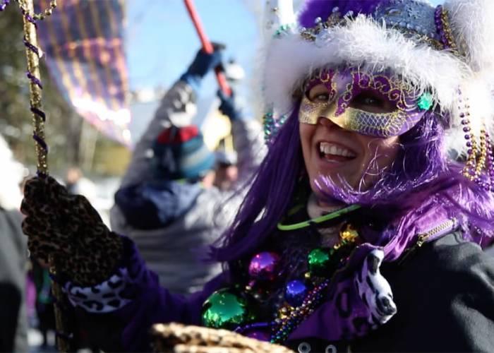 Mardi Gras in Breckenridge