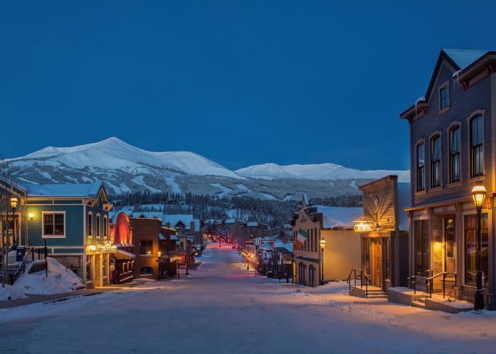 Carl Scofield, Breckenridge, Colorado Winter