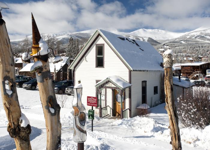 Breckenridge Town Winter - Arts District