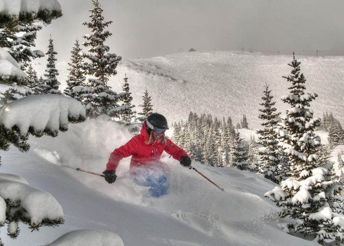 Skiing in Breckenridge, Colorado