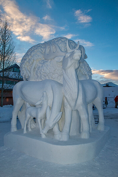 Ice Sculptures Breckenridge Carl Scofield