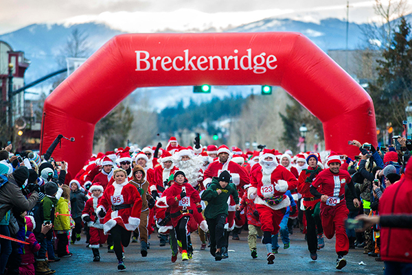 Race of the Santas Breckenridge Carl Scofield